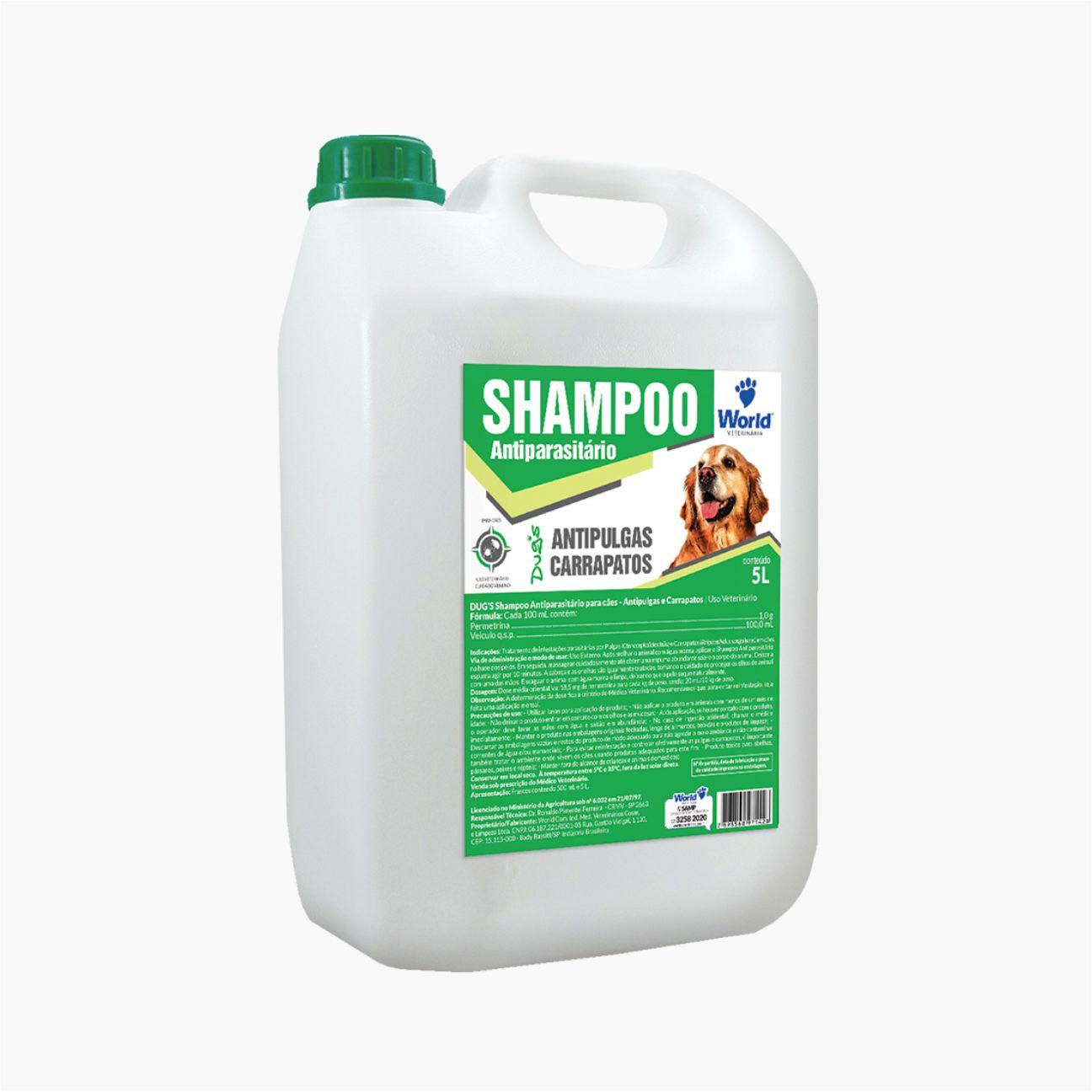 Shampoo Dug's Antiparasitário